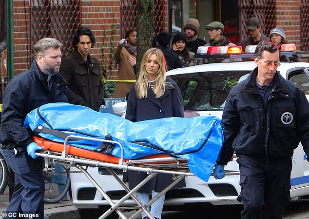 The Flight Attendant: The new drama thriller will follow the titular flight attendant (Cuoco) as she wakes up hungover in a hotel room in Dubai, with a corpse lying beside her - and no memory of the previous night;  Kaley pictured in March