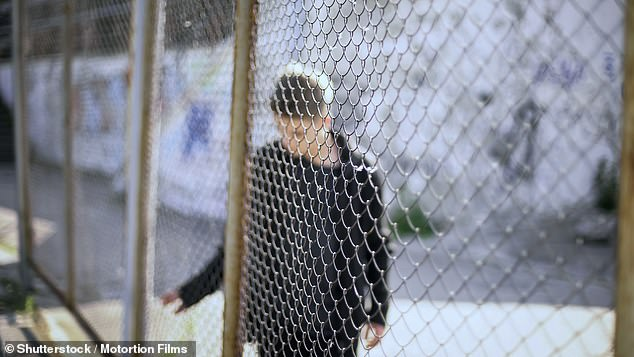 He claimed the guard 'took a liking' to him after he was 'bullied' (file image pictured). He claimed the guard gave him extra cigarettes before raping him over a six-month period