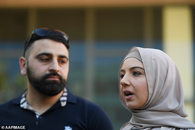 Ms Elasmar said it was 'nerve-racking' to sit in court, listen to him and re-live the assault