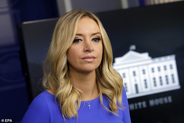 White House Press Secretary Kayleigh McEnany brought up a group of ballots discovered in Pennsylvania as she attacked mail-in voting