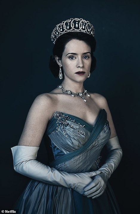 Coronation: Claire Foy played a young Queen Elizabeth II as she ascended the throne following her late father's death