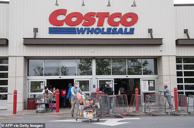 Bulk-buy specialist Costco, more normally known for its ¿pile-¿em-high, sell-¿em-cheap¿ philosophy, is now offering bars of gold for up to £24,500 a time (file photo)