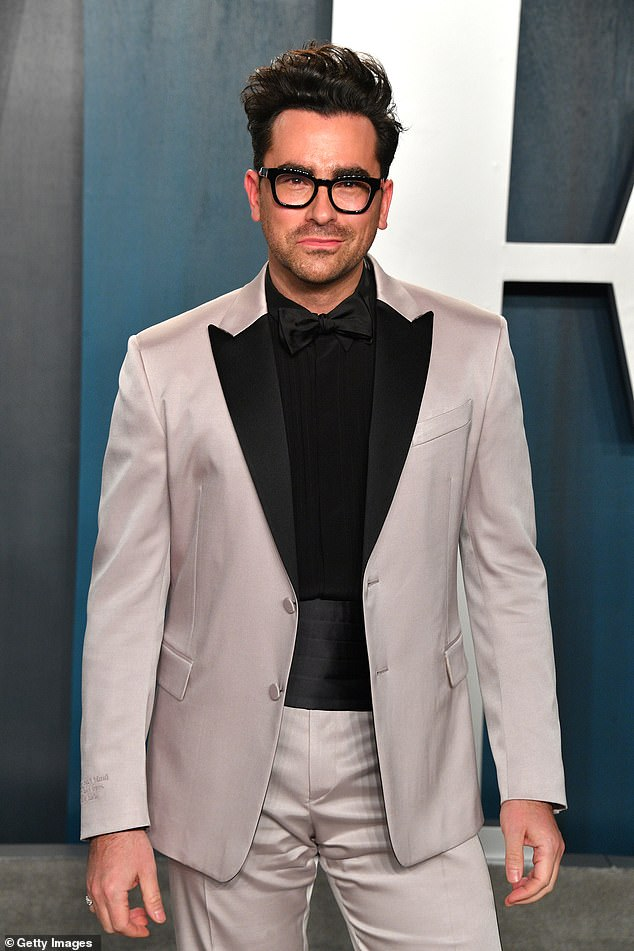 "Lead man: Sitcom creator and star Dan Levy took to Twitter on Saturday morning to share the good news, writing, ""Surprise! He is seen here in February"