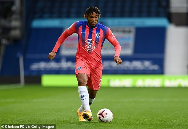 Chelsea defender Reece James has been promoted to England's senior squad for the first time