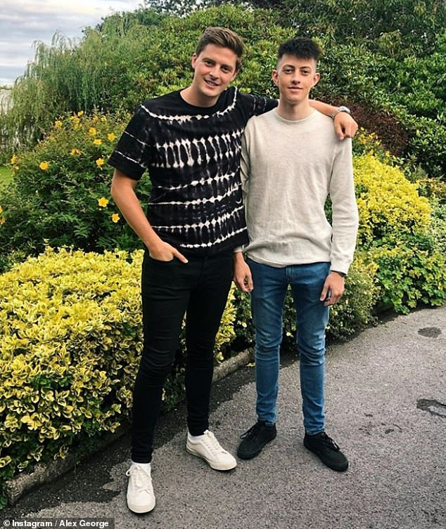 'Young people should ask for help': This comes after Dr Alex revealed that the loss of his brother had encouraged him to do 'whatever he could' to help others with struggling with mental health issues