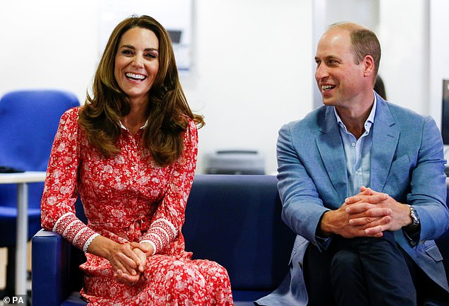 Praise: Dr Alex also praised The Duke and Duchess of Cambridge for leading the Heads Together mental health initiative (pictured in September)