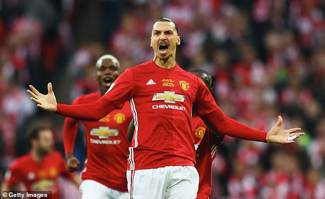 The Old Trafford scene perfectly suited Zlatan Ibrahimovic's ego, temperament and abilities