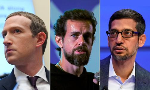 Mark Zuckerberg, Jack Dorsey and Sundar Pichai to testify before Senate Committee on Oct. 28 | Daily Mail Online