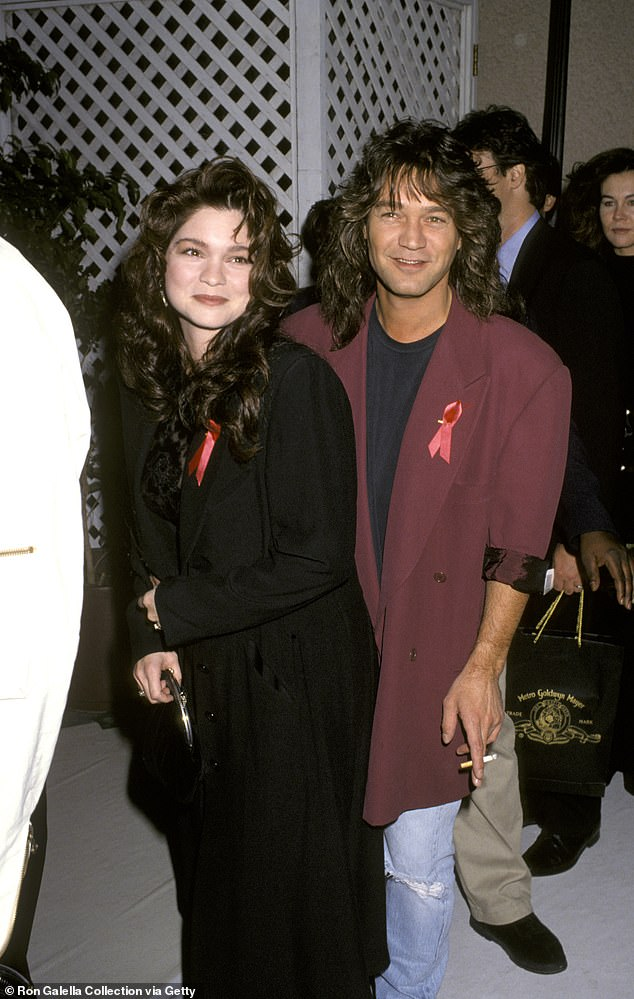 A love story: He was wed to Valerie Bertinelli with whom he has son Wolfgang; seen in the Eighties