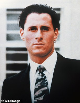 Ron Goldman, who was believed to have been murdered by OJ, is pictured