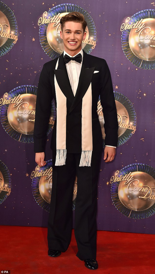 Moving on: AJ quit Strictly Come Dancing in March after four years on the series, telling fans he wanted to work on 'opportunities in the presenting world alongside brother Curtis'