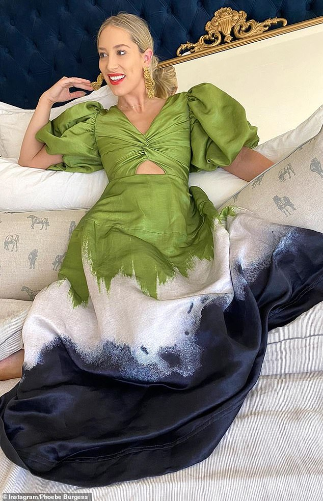 Lavish life: Her marriage to retired NRL star Sam Burgess may be in tatters, but that hasn't stopped Phoebe Burgess (née Hooke) from living the WAG lifestyle