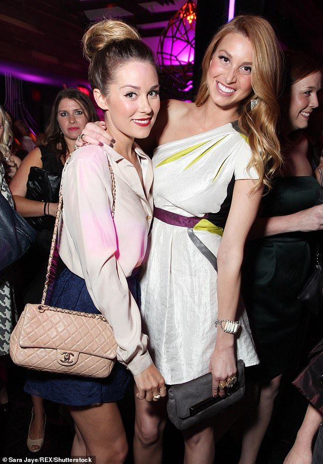 Opening up: Whitney admitted to her Hills costar Lauren Conrad that she feared they had fallen out of friendship on her podcast last week, but Lauren confirmed the two were still good; shown in 2011