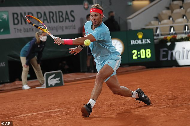 Nadal downplayed expectations ahead of tournament start, but is coming back to his best now