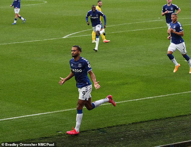 Meanwhile, their bitter rivals Everton, led by Dominic Calvert-Lewin, lead the league