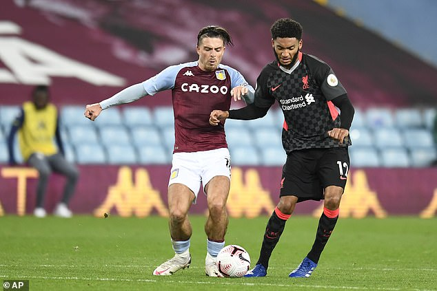 Joe Gomez was one of the Reds' great wrestlers in their incredible loss to Aston Villa