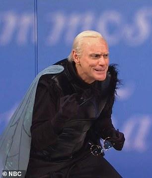 Carrey like Biden like the fly on Pence's head
