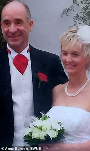 Bill and Anne were married in 2007