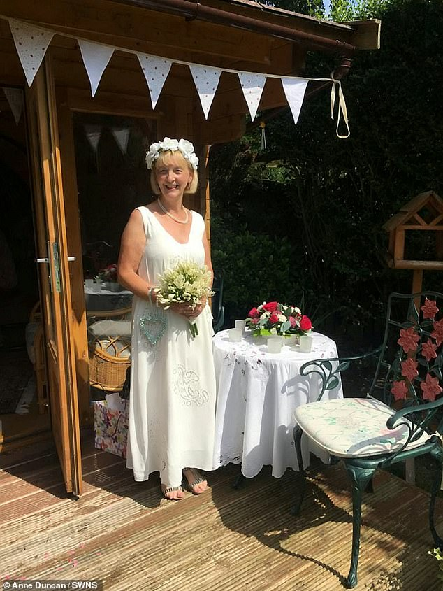 Anne has now revealed how the couple experienced a 'miraculous' six-week honeymoon after the 'most beautiful and unexpected' wedding