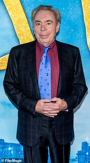 Role: Lord Andrew Lloyd Webber (pictured) reportedly wants Mescal to play Prince Charming in the production