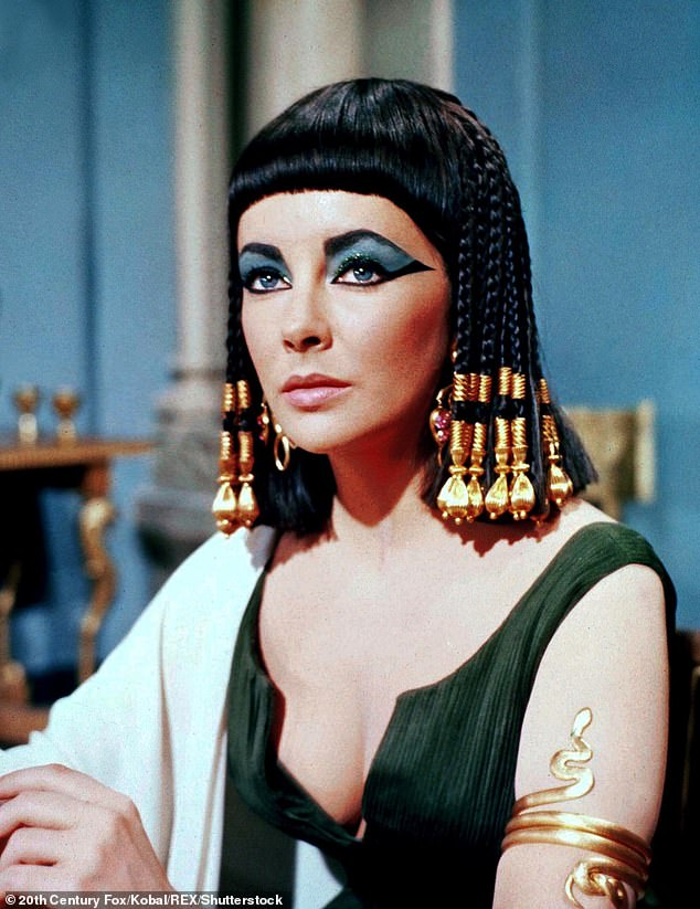 Big shoes to fill in: The Queen of Egypt was memorable played by Hollywood legend Elizabeth Taylor in a 1963 epic