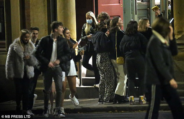 In Leeds, eager partygoers took to the streets in their droves to soak up the nightlife