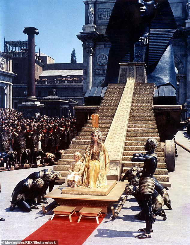 Infamous Movie: Taylor's Cleopatra was the highest grossing film of 1963. However, it was plagued by production delays and scandal, to the point of nearly bankrupting 20th Century Fox.