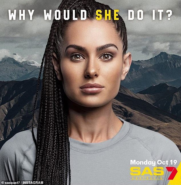 Brand new Busso: Arabella, real name Donna Preusker, told Woman's Day that she hopes her upcoming appearance at SAS Australia will help rebuild her public image