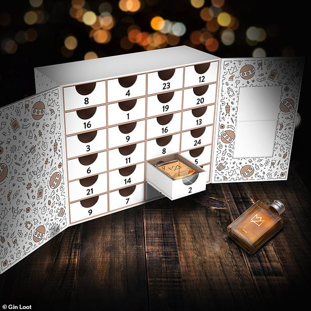 The Gin Loot's sister company the Whisky Loot also offers a whisky advent calendar, which includes 24 samples from Japan, Scotland, Ireland, America and Australia