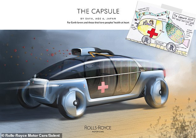 The Capsule was designed by six-year-old Saya from Japan and won the environment category