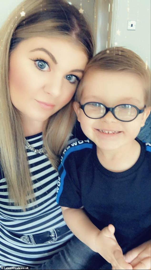 Erin said that the project, which she estimates cost around £400, helped her and three-year-old Travis bond during during lockdown