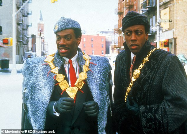 Akeem and Semmi: In the original film, Akeem (Murphy) and his aide Semmi (Arsenio Hall) get jobs at McDowell's so Murphy can try and get close to Cleo's daughter Lisa (Shari Headley)