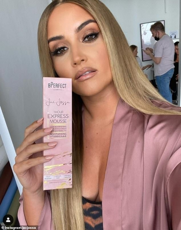 Endorsement:Jacqueline has seen her career soar since winning I'm A Celebrity in 2019, landing several lucrative deals includingclothing ranges with online retailer InTheStyle and a tanning line with BPerfect Cosmetics