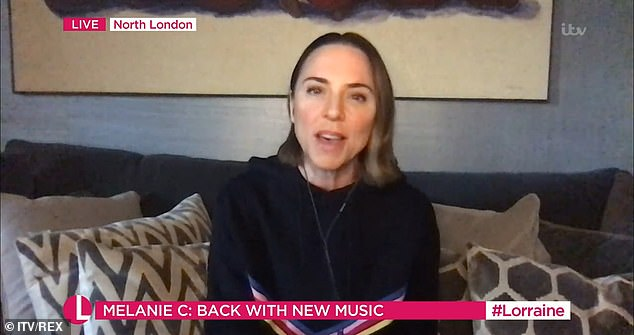 'It¿s something I¿ve always been compelled to do': Mel also spoke about her new eponymous album, which she described as 'very positive'