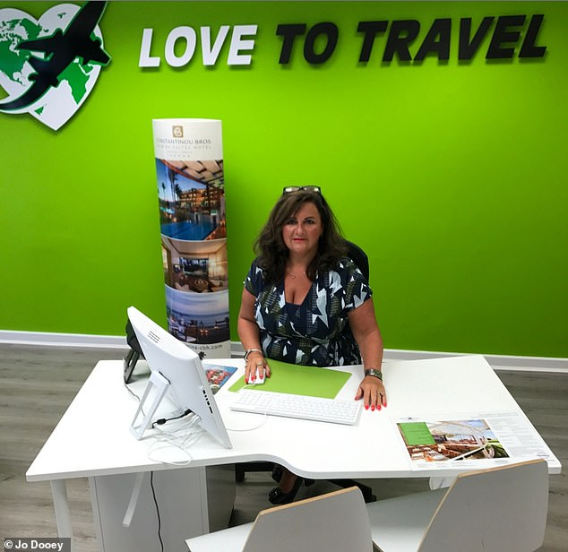'It's time someone listened to our plight'Jo Dooey, 55, has three agencies in Lanarkshire, Scotland - she says there hasn't been enough support for the travel industry