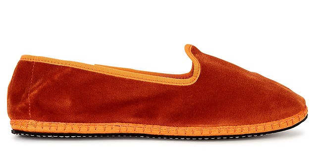 Handmade, decadent… we're sold! Slippers, £85, Capulette at harveynichols.comharveynichols.com