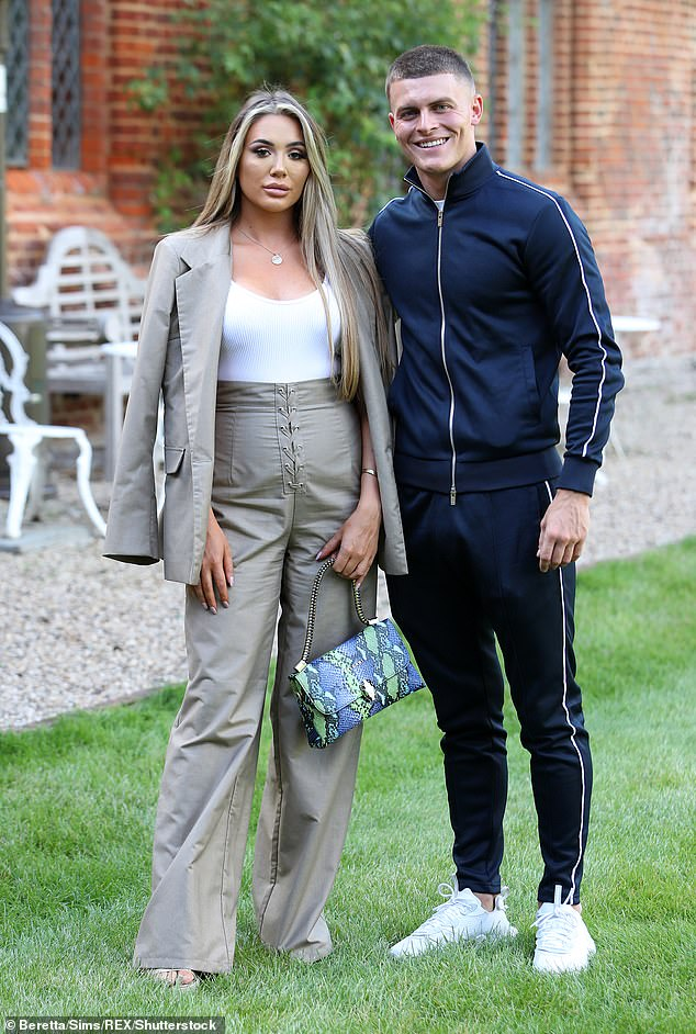Breakup: The couple's explosive argument has been filmed, and TOWIE fans will be able to see the drama in an upcoming episode (pictured in September)