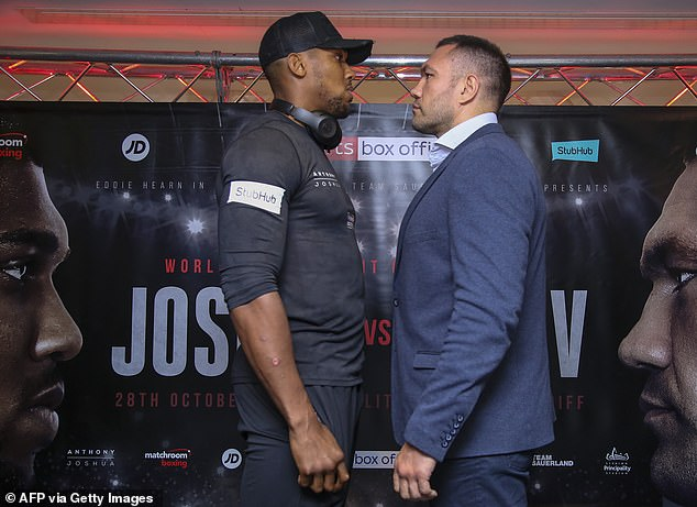 Kubrat Pulev made reference to Anthony Joshua's skin colour ahead of their title fight
