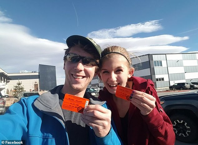 In a post from 2017, Dolloff shared that he and his partner had both obtained hunting licenses