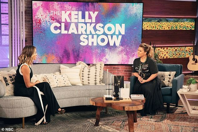 Sharing: The siren was recently on The Kelly Clarkson show talking about her split
