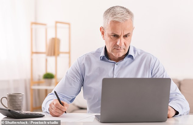 Writing a will was another problem that people said isn't as difficult as people think. Approaching our own mortality is difficult but some users on Reddit said it helps make life easier for those loved ones you leave behind (stock image)
