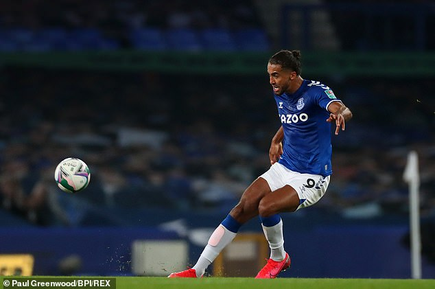 Everton striker Calvert-Lewin admitted he has received racial abuse from online trolls before