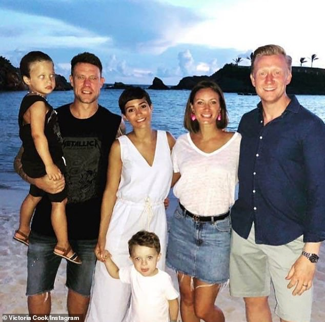 Family:Frankie and husband Wayne Bridge have two sons, Parker, seven, and Carter, five. Tor married James Cook in 2017, and the couple relocated to Bermuda last summer