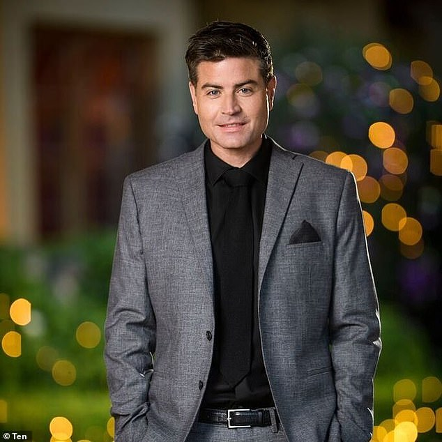 Didn't see that coming! Their breakup was spread across the tabloids when Carys got cozy with former Bachelorette star Stu Laundy (pictured) in 2018