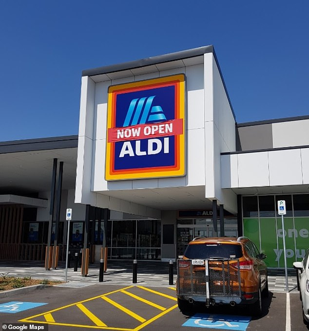 Mr Bray's claim prompted an investigation from both Aldi (file image storefront pictured)and the South Australian Consumer and Business Services