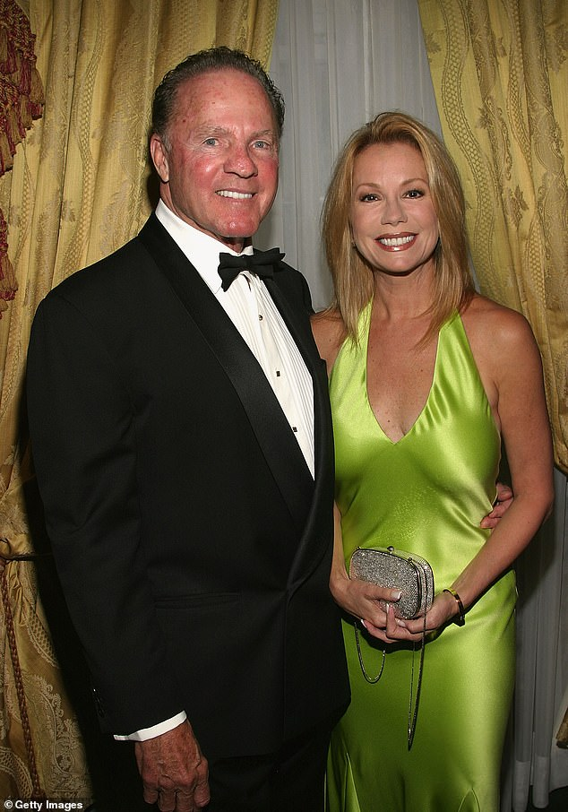 Opening up:Five years after the death of her second husband Frank Gifford, Kathie Lee Gifford revealed she's not 'actively looking' for love