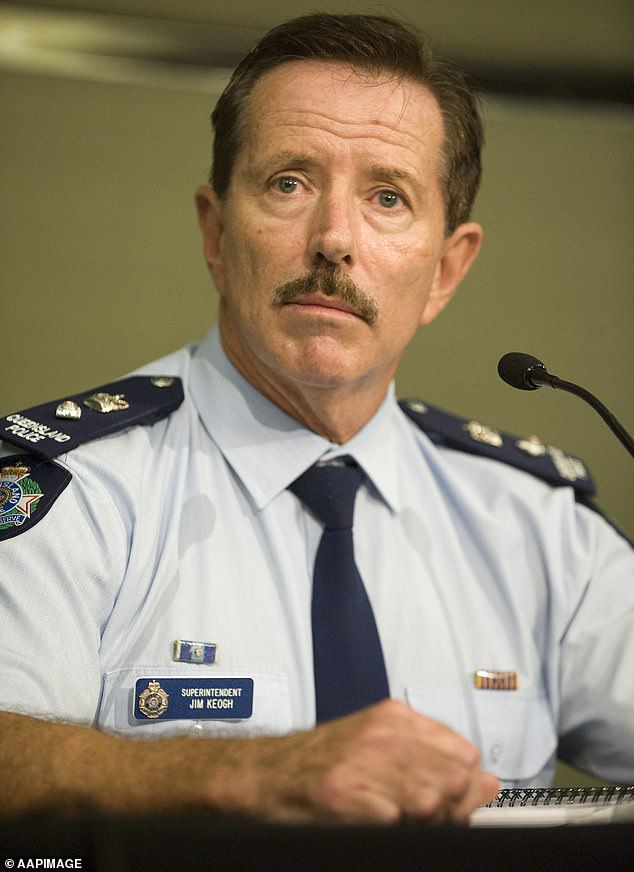 Retired former anti-bikie police officer Jim Keogh (pictured) does not believe there will be all out retaliation for Bowden's death