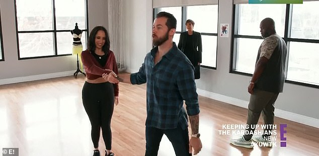 Pro dancer: Kris and Corey got dance lessons fromDancing With The Stars vets Artem Chigvintsev, 38, and Cheryl Burke, 36