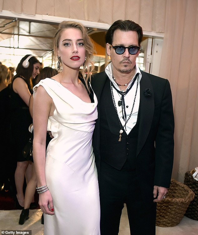 Support: While Johnny Depp awaits the start of his defamation trial against ex-wife Amber Heard, the beleaguered actor has gotten support from singer Sia