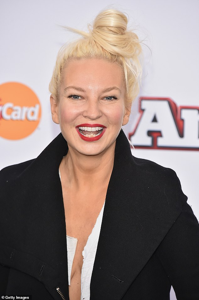 Singer: The 44-year-old singer (born Sia Kate Isobelle Furle) took to Twitter on Thursday, showing her support for the 57-year-old Pirates of the Caribbean star